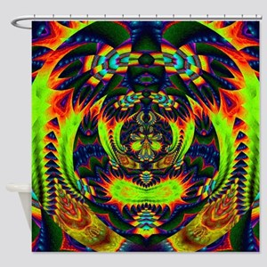 Psychedelic NeuLight n1 Shower Curtain