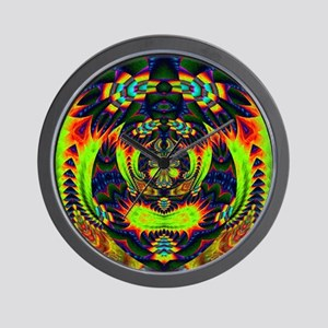 Psychedelic NeuLight n1 Wall Clock