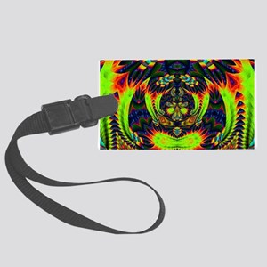 Psychedelic NeuLight n1 Large Luggage Tag