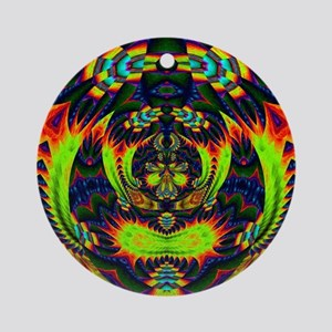 Psychedelic NeuLight n1 Ornament (Round)