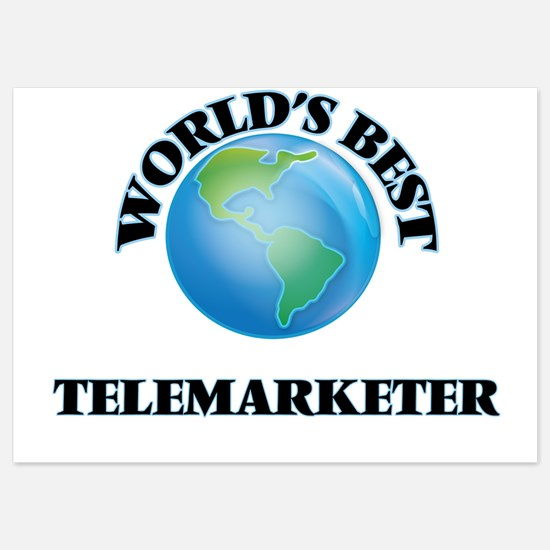 World's Best Telemarketer Invitations
