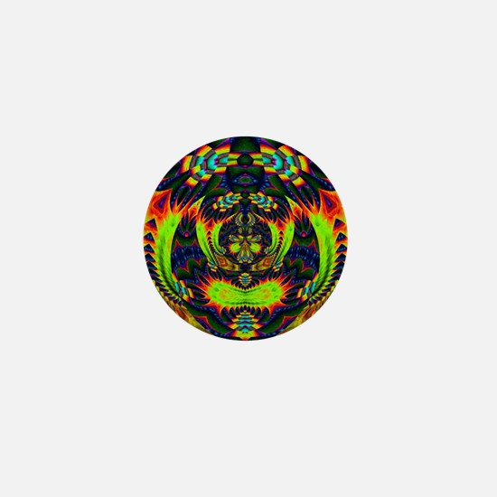 Psychedelic NeuLight n1 Mini Button