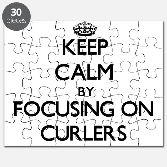 Keep Calm by focusing on Curlers Puzzle