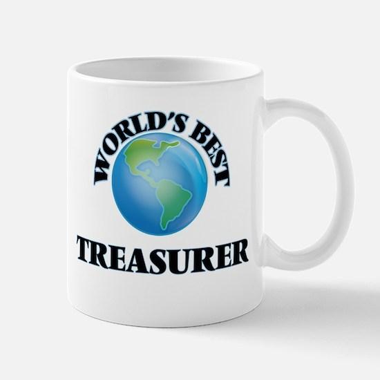 World's Best Treasurer Mugs
