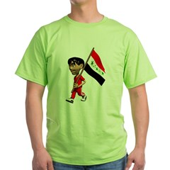 Cute 3D Iraq Flag T-Shirt