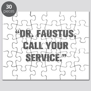 DR FAUSTUS CALL YOUR SERVICE Puzzle