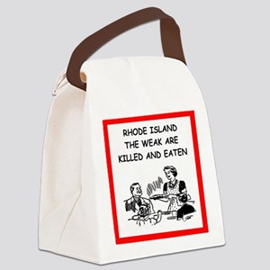 rhode island Canvas Lunch Bag