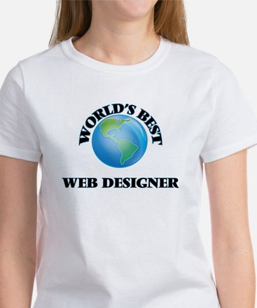 World's Best Web Designer T-Shirt