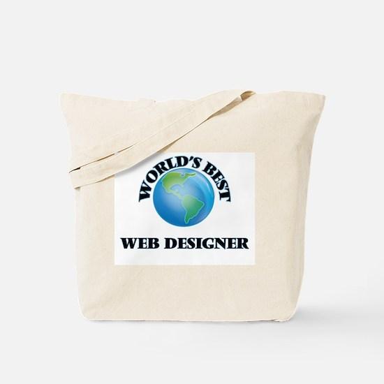 World's Best Web Designer Tote Bag