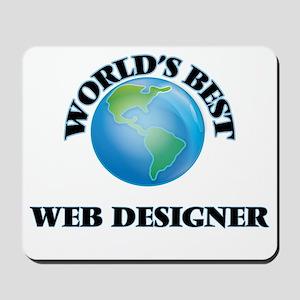 World's Best Web Designer Mousepad