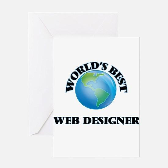 World's Best Web Designer Greeting Cards