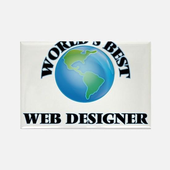 World's Best Web Designer Magnets