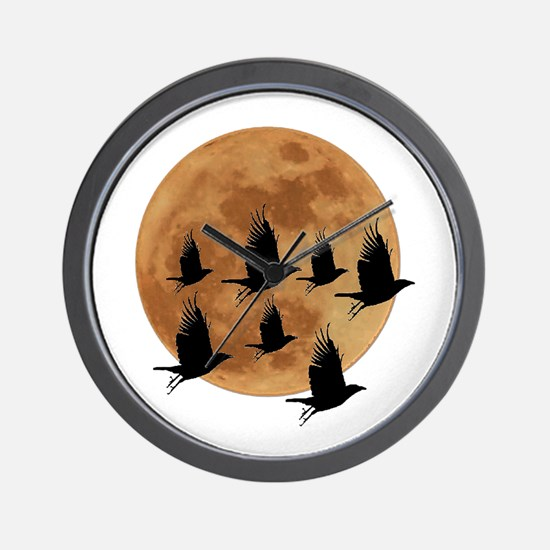 AND BY NIGHT Wall Clock