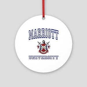 MARRIOTT University Ornament (Round)