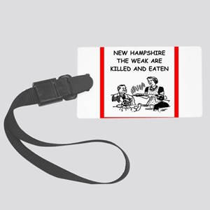 new hampshire Luggage Tag