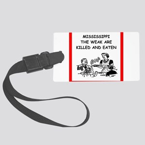 mississippi Luggage Tag