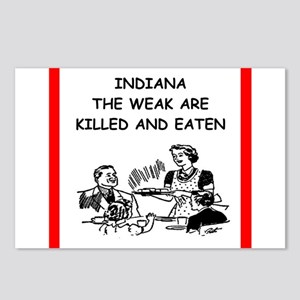 indiana Postcards (Package of 8)