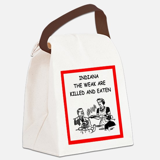 indiana Canvas Lunch Bag