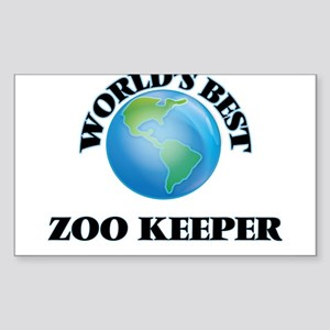 World's Best Zoo Keeper Sticker
