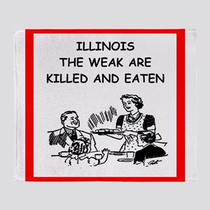 illinois Throw Blanket