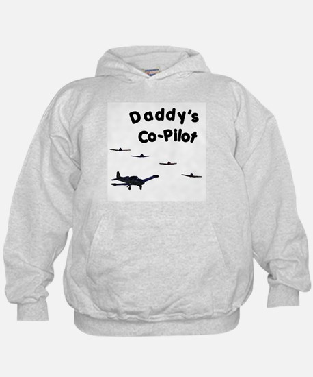 Daddy's Co-Pilot Hoodie