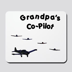 Grandpa's Co-Pilot Mousepad