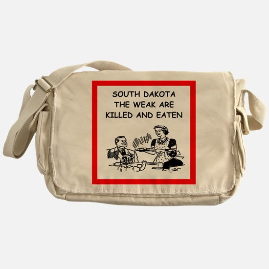 south dakota Messenger Bag