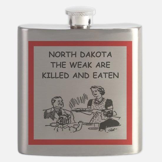 north dakota Flask