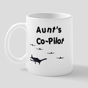 Aunt's Co-Pilot Mug