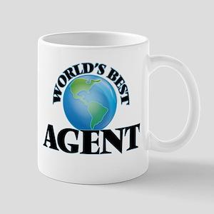 World's Best Agent Mugs