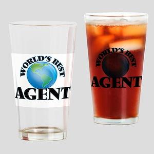 World's Best Agent Drinking Glass