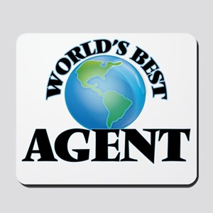 World's Best Agent Mousepad