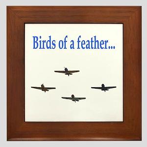Birds of a Feather - A Framed Tile