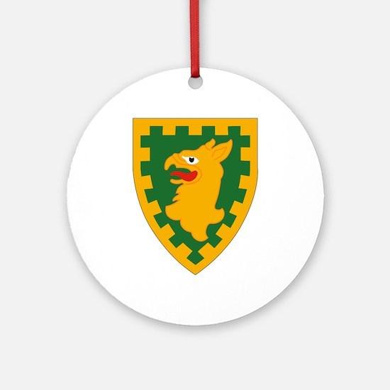 15th MP Brigade.png Ornament (Round)