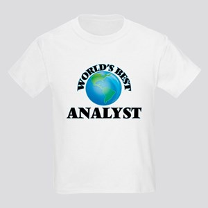 World's Best Analyst T-Shirt