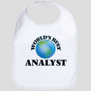 World's Best Analyst Bib