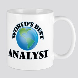 World's Best Analyst Mugs