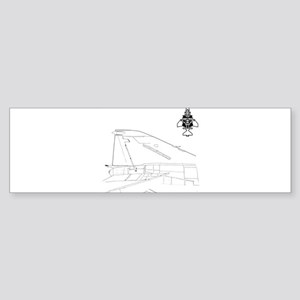 f4logo 04 Bumper Sticker