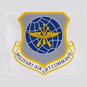 Military Airlift Command MAC Throw Blanket