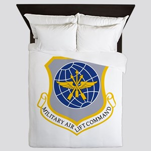 Military Airlift Command MAC Queen Duvet