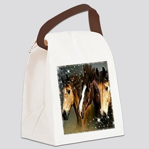 Sky Horses Canvas Lunch Bag