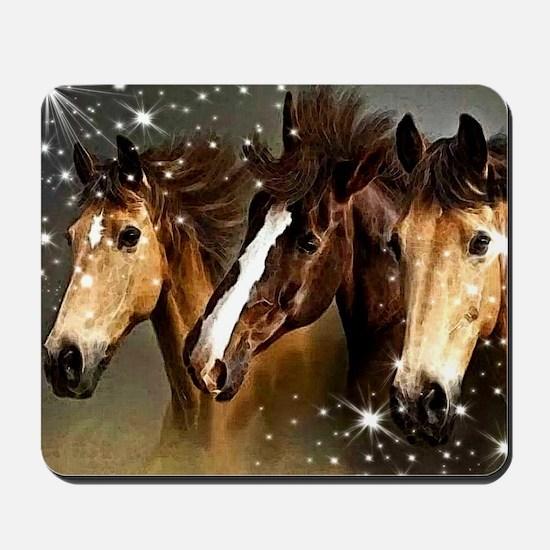 Sky Horses Mousepad