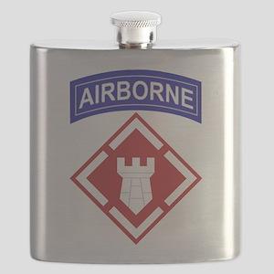 20th Engineer Brigade Flask