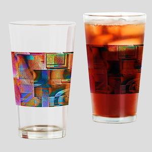 Angular Ocular Drinking Glass