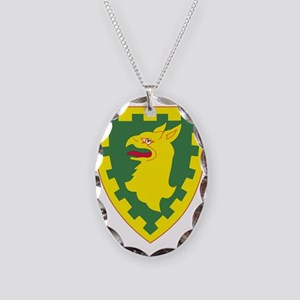 15th Military Police Brigade.p Necklace Oval Charm