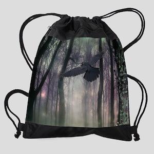 Gothic Dreamland Drawstring Bag