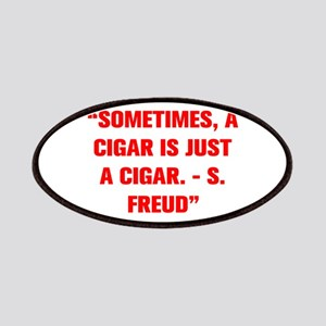 SOMETIMES A CIGAR IS JUST A CIGAR S FREUD Patches