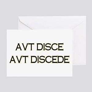 AVT DISCE Greeting Cards (Pk of 10)