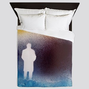 The Loneliness of Depression Queen Duvet