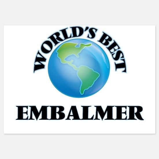 World's Best Embalmer Invitations